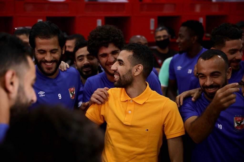 فيديو.. أحمد ناجي للاعبي الأهلي باكيا: