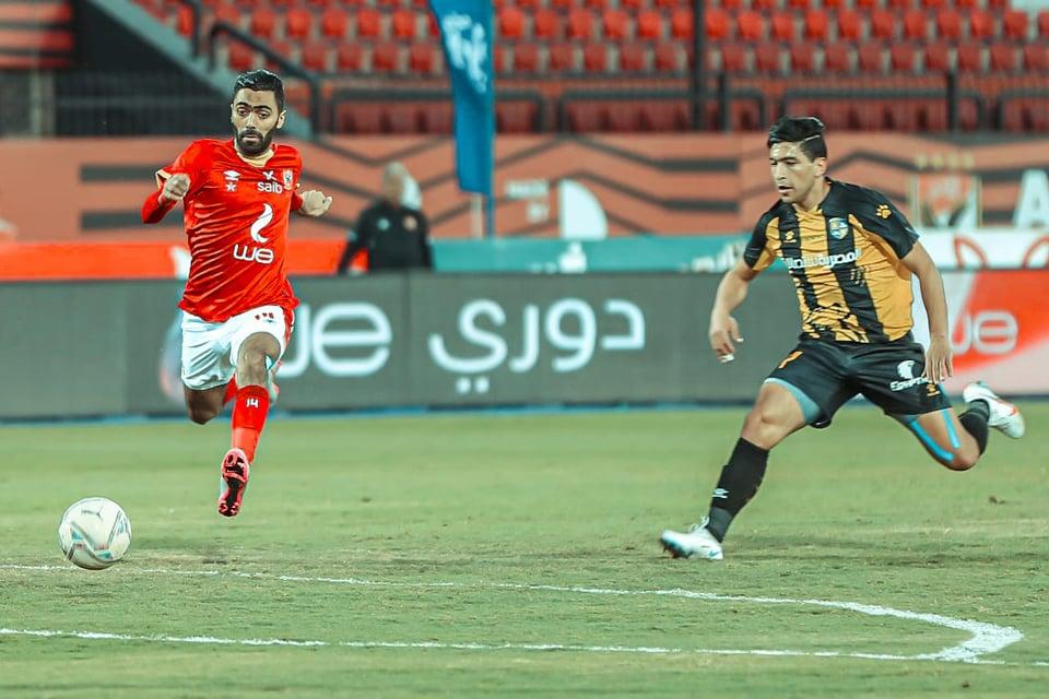 عاجل- إيقاف حسين الشحات 4 مباريات