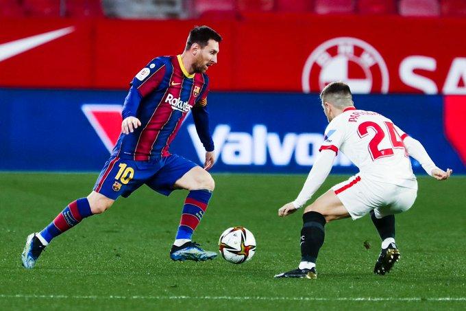 شاهد.. أهداف برشلونة (2-0) ضد أشبيلية في الدوري الإسباني