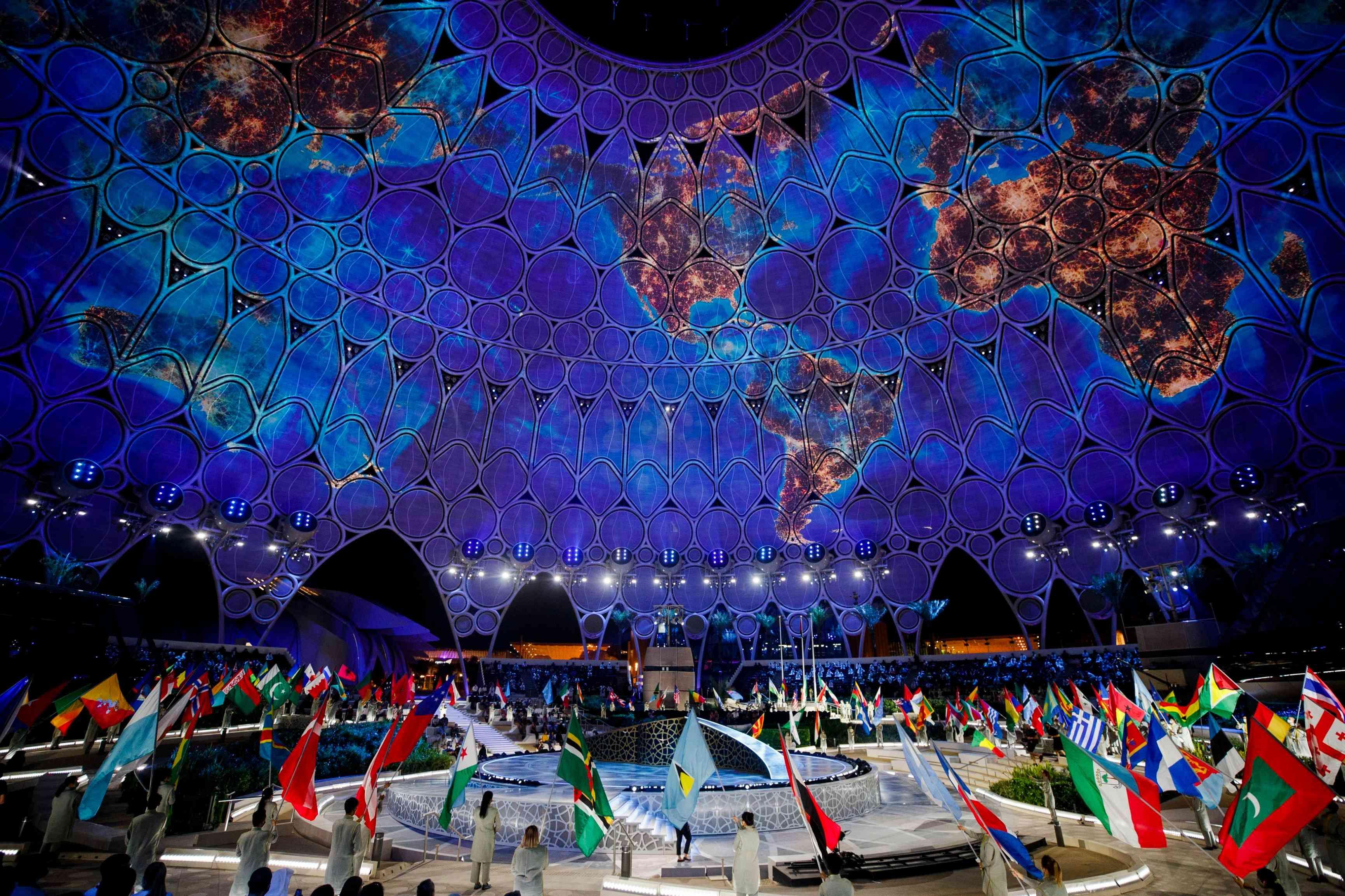 بث مباشر.. شاهد مراسم انطلاق معرض إكسبو دبي 2020 بالإمارات